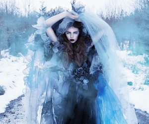 blue and faerie image