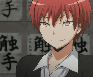 anime, assassination classroom, and karma akabane image