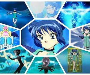 blue, cartoon, and mew mew image