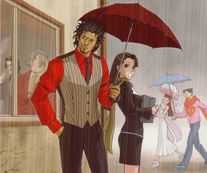 couple, ace attorney, and phoenix wright image
