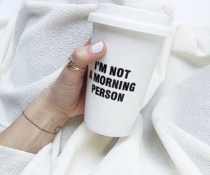 coffee, white, and morning image
