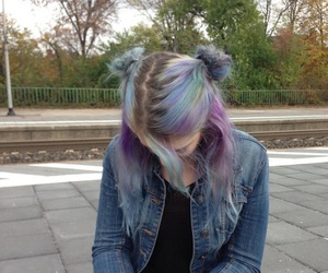 hair, grunge, and tumblr image