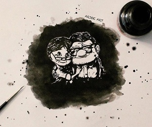 art, couple, and disney image