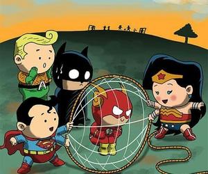 flash, batman, and superman image