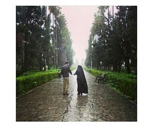 hijab, حُبْ, and aslam image