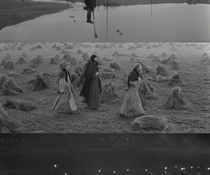 black n white, tarkovsky, and old movie image