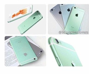 iphone, yes, and mint green image