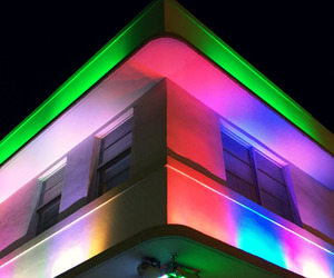 glow, lights, and neon image