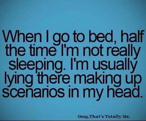 teenager post, quote, and bed image