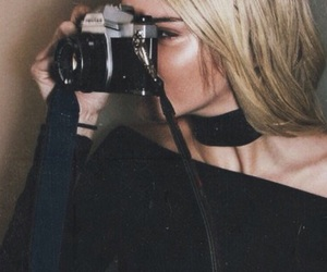 blonde and kendall jenner image