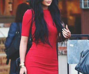 kylie jenner and red image