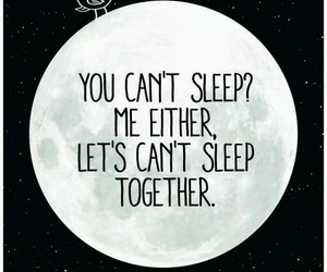 sleep, together, and moon image