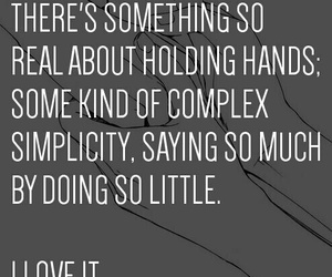 holding hands and love image