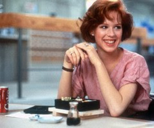 The Breakfast Club, Molly Ringwald, and movie image