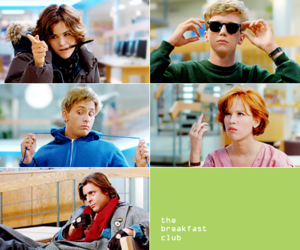 The Breakfast Club and john hughes image