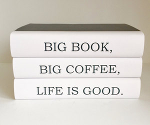black books, books, and coffee image