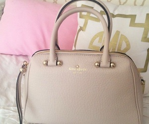 beige, Nude, and kate spade image