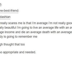 life, quotes, and sad image