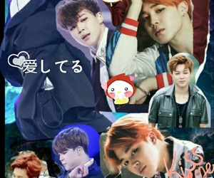 Collage, jimin, and bts image
