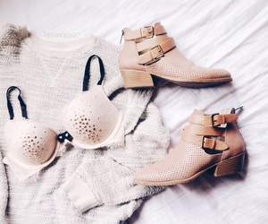 booties, boots, and bra image