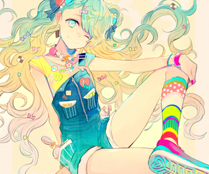 fashion girl, hatsune miku, and miku hatsune image