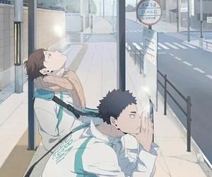 haikyuu, iwaoi, and oikawa image