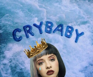 cry baby, girl, and wallpaper image