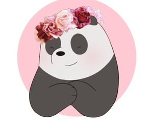 we bare bears and panda image