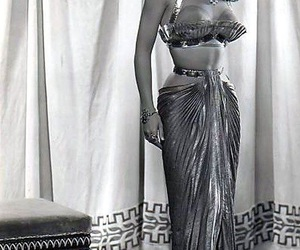 classic, Debra Paget, and dress image