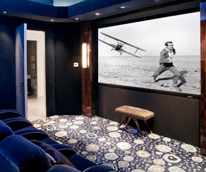 california, cinema, and decor image