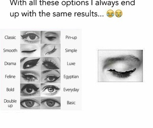 eyeliner and funny image