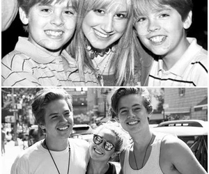 dylan sprouse, cole sprouse, and ashley tisdale image