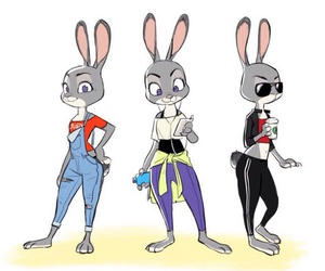 bunny, cool, and style image