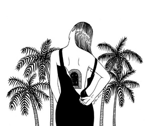 art, black, and following image