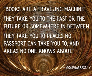 between, books, and future image