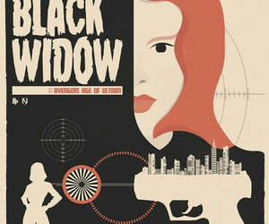 black widow, Avengers, and age of ultron image