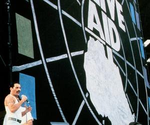 1985, concert, and Freddie Mercury image