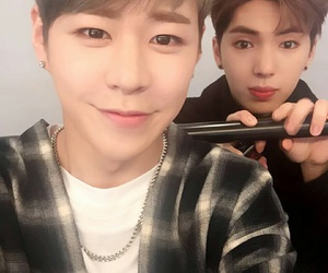 kpop, jian, and imfact image
