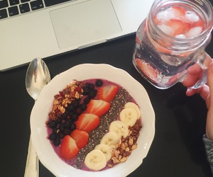 blueberry, breakfast, and inspo image