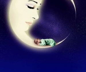 asleep, baby, and Dream image