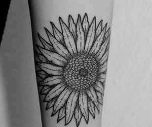 flor, flower tattoo, and flower image