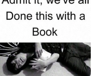 book, funny, and fandom image