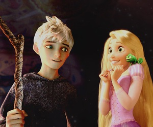 cartoon, disney, and jack frost image