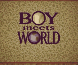 90s, boy meets world, and tv image