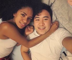 asian, couples, and girl image