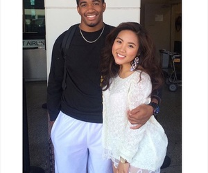 asian, black, and le image
