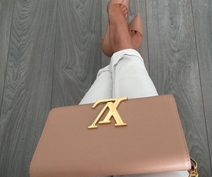 fashion, heels, and Louis Vuitton image