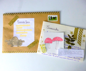 autumn, envelope, and Letter image
