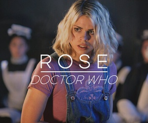 doctor who, rose, and series tv image