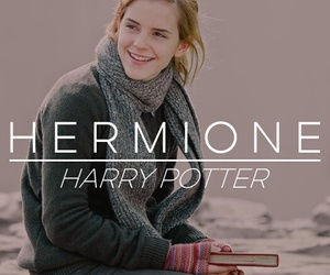 harry potter, hermione, and love image
